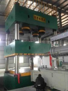 Four-Column, Single-Movement Hydraulic Press for Sheet Metal Drawing Yll27-2500t pictures & photos