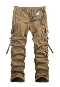 Men′s Cotton Casual Military Army Cargo Camo Combat Work Pants pictures & photos