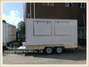 Ys-Fb390c 3.9m Glass Re-Enforced Panel High Quality Mobile Food Trailer Food Truck for Sale pictures & photos