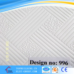 PVC Gypsum Ceiling Tile/PVC Gypsum ceiling Board/Top Quality Raw pictures & photos
