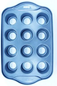 High Quality 12cups Aluminum Cake Mould