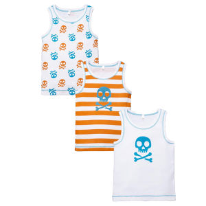 High Quality Pure Cotton Cute Boy Vest Clothes for Kids pictures & photos