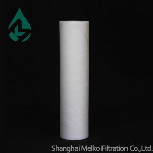Plastic Core Type PP Spun Filter Cartridge pictures & photos