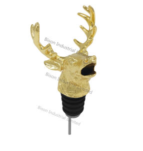 Customized Deer Head Wine Pourer, Deer Wine Pourer pictures & photos