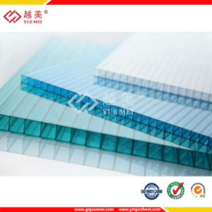 UV Coated 8mm Twin Wall Polycarbonate Sheets for Roof pictures & photos