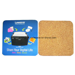 Cork Cup Mat/Placemat, Cork Coaster for Promotion pictures & photos