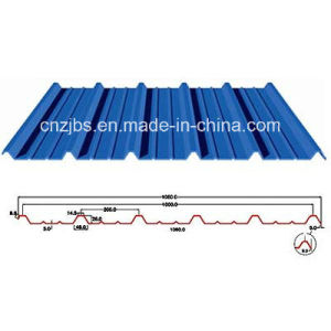 YX-25-200-1000 Prepainted Corrugated Steel Roofing Sheet pictures & photos