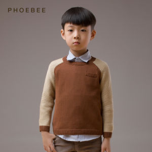 Leisure Children Clothing by Cotton for Boy Coat pictures & photos