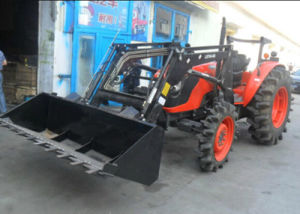 Hot Selling Big Horsepower Wheel Type 120HP 4WD Farm Tractor with Front Loader/Backhoe pictures & photos