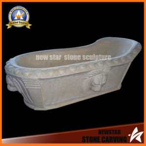 Stone Carving Freestanding Tub Marble Bathtub Hot Tub pictures & photos