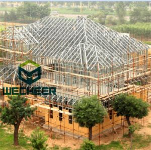 Steel Frame Raw Material with Code for Galvanized Steel Structure Apartment pictures & photos