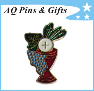 High Quality Metal Pin Badge in Lucent Cloisonne (badge-232) pictures & photos