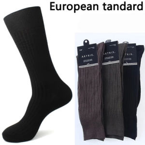 2016 New Style High Quality European Men Dress Socks pictures & photos