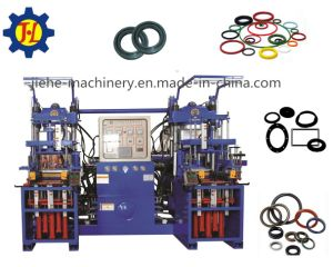 500t Rubber Silicone Oil Seals Heating Curing Molding Machine Made in China pictures & photos