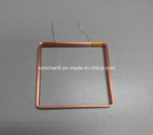 Adhesive Copper Wire Coil for Battery Charging Air Core Coil pictures & photos