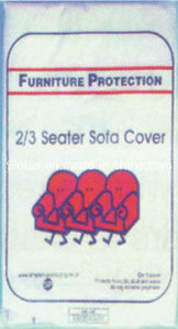 Furniture Protector for Sofa or Bed Plastic Dust Cover pictures & photos