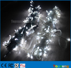 China Connectable 10m White Christmas Led String Fairy Lights