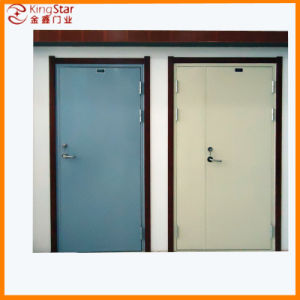 Sturdy and Safe Steel Fireproof Door Without Glass (A1.00-1)