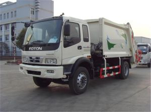 Professional Supply Sanitation Compressor Garbage Compactor Truck of 15m3 Tank Size pictures & photos