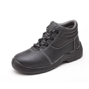Industrial Work Footwear Leather Safety Shoes pictures & photos
