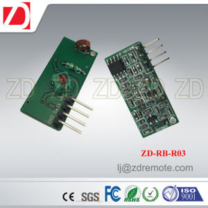 Best Price 433MHz RF Receiver Module Superregeneration for Automation Device Zd-Rb-R04 pictures & photos