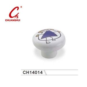 Ceramic Knob Handles with Little Purple Girl (CH14014) pictures & photos