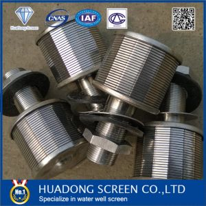 Stainless Steel 304/316 Wedge Wire Screen Nozzle Filter with NPT Thread pictures & photos