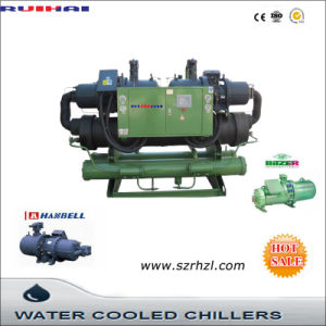 Screw Type Industrial Water-Cooled Water Chiller pictures & photos