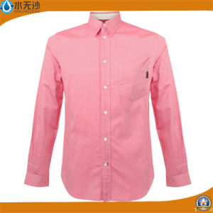 Men Casual Slim Fit Long Sleeve Shirt Brand Dress Shirt pictures & photos