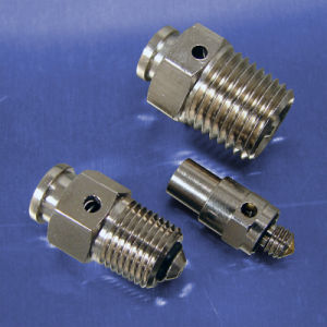 OEM CNC Stainless Steel Air Control Release Bleed Valve pictures & photos