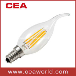 C35t 4W/2W LED Filament Lamp/Candle Bulb pictures & photos