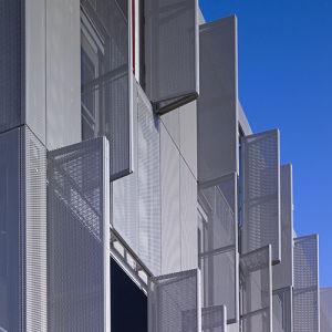 Openable Aluminum Facade Cladding Panels