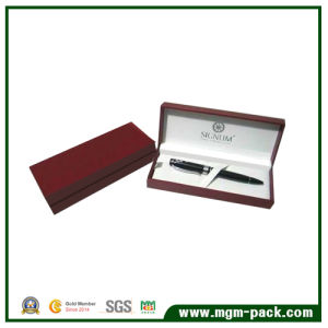 Hot Selling Red Custom Promotional Paper Gift Pen Box pictures & photos