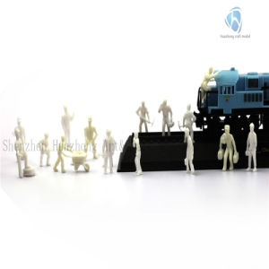 1: 87 Scaled Plastic Railway Worker Figure (mixed packet)