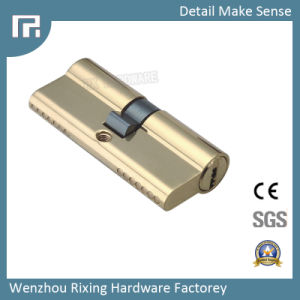 Door Lock Cylindedouble Open S Double Groove Brass Security Rx-04 pictures & photos