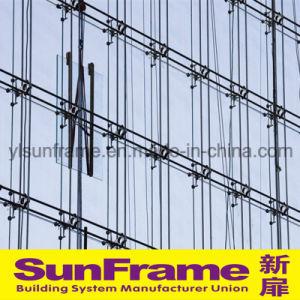 Aluminium Glazing Point Fixing Curtain Wall System