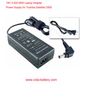 Laptop Adapter/Notebook AC Adapter with 19V 3.42A Output