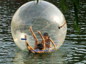 Round and Clear Inflatalbe Water Ball for Sale (TK-030)