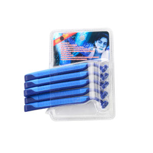 Two Blade Disposable Shaving Razor with 5PC Double Blister Packaging (PK-03)