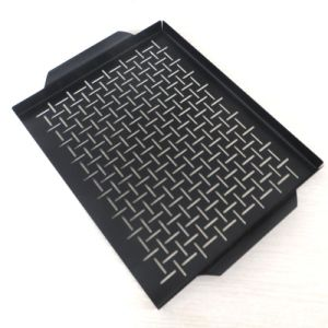 Practice Outdoors Tools Square Barbecue Grill Pan Ha67005 pictures & photos