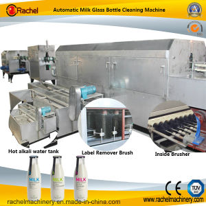 Automatic Milk Glass Bottle Washing Machine pictures & photos