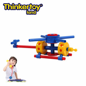 Thinkertoy Land Blocks Educational Toy Military Series Carrier Rocket Aerocraft (M6603)