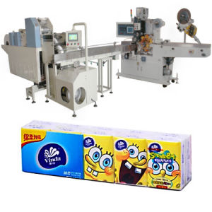 Automatic Tissue Paper Making Machine for Handkerchief Production Line pictures & photos