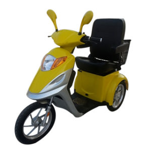 500W Brushless Hand Brake Electric Tricycle Scooter pictures & photos
