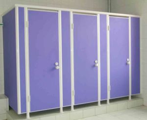 18 mm Thickness Compact Panel Cubicle Partition System