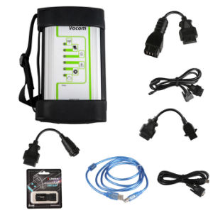 Volvo 88890300 Vocom Interface for Volvo Renault Ud Mack Multi-Languages Truck Diagnose Square Interface Heavy Duty Scanner