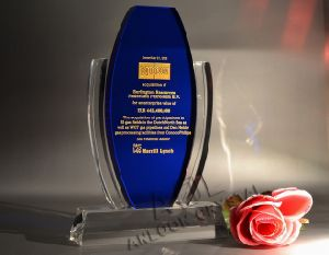 Crystal Trophy & Award, K9 Optical Crystal (ALT12012)