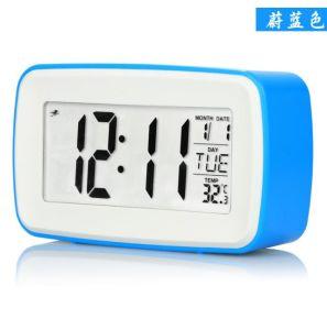 Digital Alarm Clock, Smart Backlight, For Desk, Shelf, Table, Bedroom
