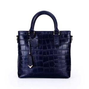 27f4506f4a China 100% Genuine Leather Ladies Handbag Cow Leather Handbag for ...