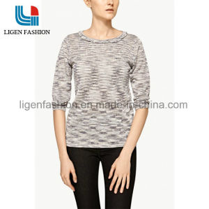 b48d4d3d625 China Women′s Knitted Clothing with 3 4 Sleeve - China Ladies ...